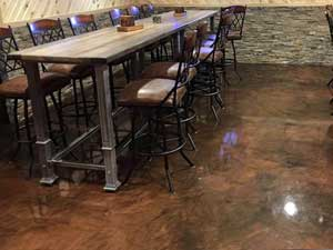 brown-epoxy-floor-dining-table